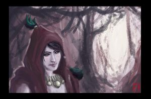 Morrigan by MrHarp