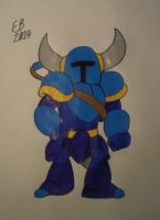 Shovel Knight by shnoogums5060