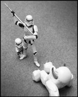 Never bully a Trooper. by SWAT-Strachan