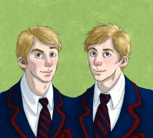 Evan and Ethan by Maitia