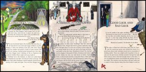 Inkheart Illustrations chapters 13-15 by sitres