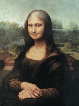 Monalisa Getting Older by roweig
