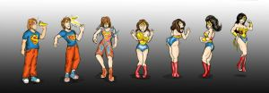 Wonder Woman TG Color by Kimbawest