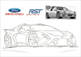Ford Racing RST RS200 Tribute Concept (1) by CrivBlock