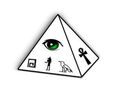 all seeing eye 1 by Wretched-Bones