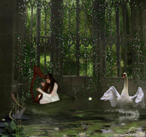 Swan Lake by Geaenie