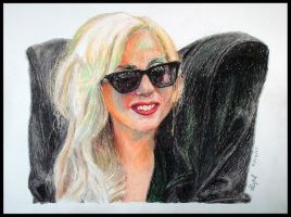 Lady Gaga by mitsh
