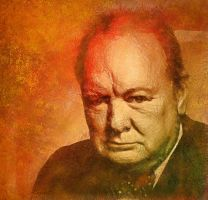 Winston Churchill by Priapo40