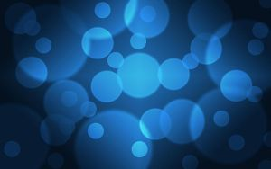 Blue Bubbles Wallpaper by SonnyKingBlack