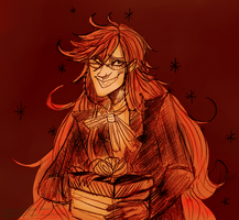 The Gift of Grell by Simply-Psycho