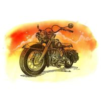 Panhead by artistm0nk