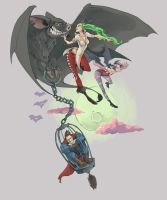 Darkstalkers by kofab