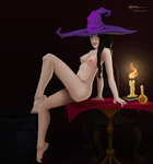 Drawlloween: Witch by arthcor
