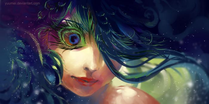 Eye of Paradise by yuumei