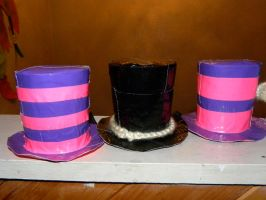 Duct Tape Top Hats by KaYDiN-xOx-ChRoi