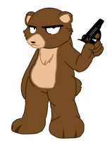 Right to BEAR arms by Mole-Chan