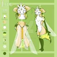 Jade Ref Sheet by DanjiIsthmus
