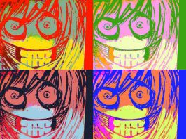 Jeff the killer everywere by pbo-artistica