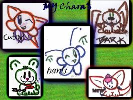 my chara's by Eehli