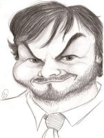 Jack Black by EspnB
