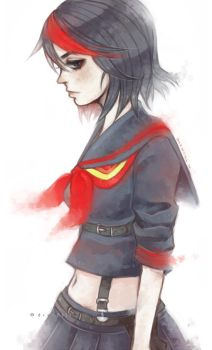 Ryuko by DrawKill