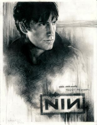 Trent Reznor. by NIN-on-DA