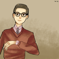 1950's Guy by abyssalCompiler