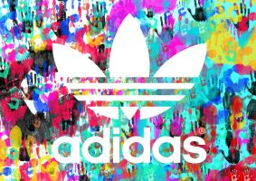 Adidas - Handprints by Mephostopheles