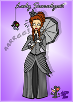 James Fox Character: Lady Scaredycat by Jamesf5