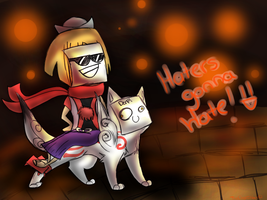 HATERS GONNA HATE by SSDOGZII