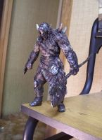 Magic the Gathering Garruk statue by futantshadow