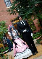 That Butler, escorting. by Caketown
