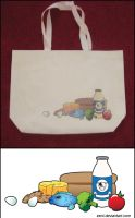 Grocery Tote by Eeni