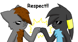 Respect by MidnightTheUmbreon