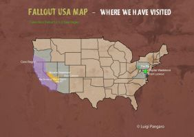 Fallout DLC USA Map by squidge16