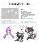 Commission info [OPEN-1 slot]+[EVENT] by Teirads