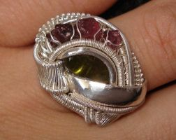 Matching ring for 'the claw' by nonomie