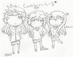 Chibi!The Maze Runner Genderbend~ by OnOffLamp