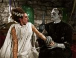 Bride of Frankenstein colorized by Micah Carey by micahcarey