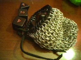 Medium chainmaille bag by lunabellvarga