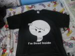 My Carrie I'm Dead Inside Shirt by Knuklez