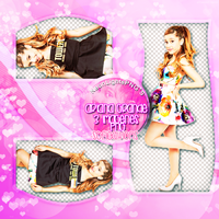Ariana Grande Pack-Neon Lights PNG'S by SoffMalik