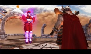 M. Bison Vs. Shao Kahn by 1KamZ