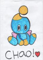 Chao - Aww! by Blondefishy