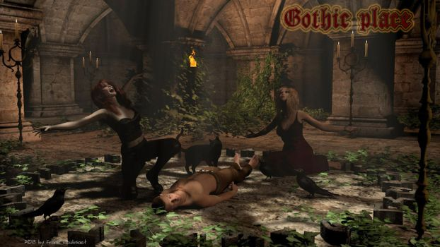 Gothic-place by freuby