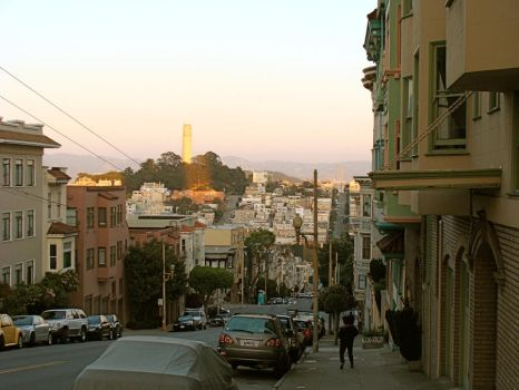 San Francisco street by Mosshi