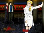 roy and riza background by colonelroymustang