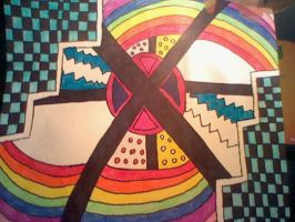 colorful blocking and circular. by GdeeeeLovr96