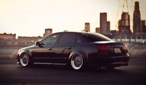 Audi A4 (with BBS) by axds