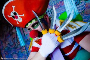 Buggy the Clown closeup by negativedreamer